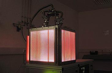 Leuchtendes Niederdruckplasma