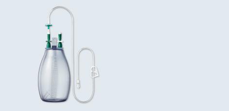 ASEPT® 1000 ml Drainage Kit L - ASEPT® System